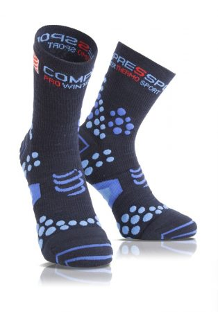 Winter run socks 2.1 kompressziós zokni - Kék